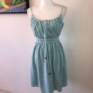 Juicy Couture smocked Terry cloth dress